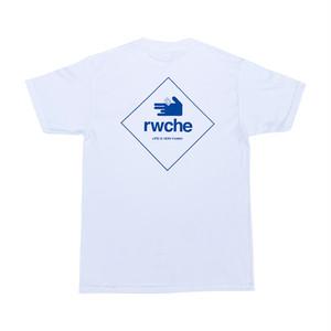 RWCHE  86K DOG TEE S/S -White-