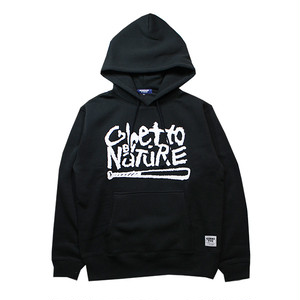 GIMME FIVE GHETTO NATURE HOOD(BLACK)