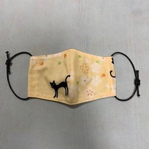 おばあちゃんの手作りマスク【ネコC】