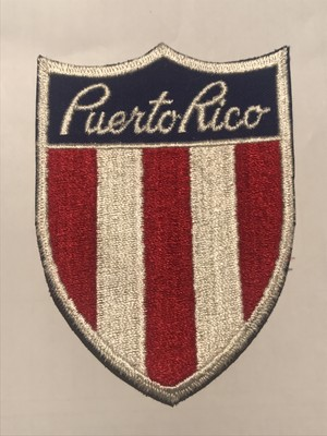 "Patch""Puerto rico"""