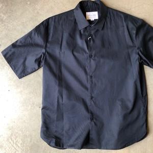 STILL BY HAND (SH0192) 2枚仕立てのシャツ   ネイビー