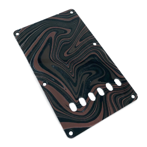 VARIOUS MARBLEIZED PICK GUARD SERIES - ST-type  Only One Design - ギター用マーブルバックプレート stba1-2