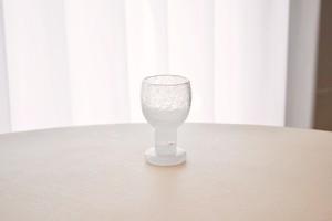 Nuutajarvi Iglu sherry glass A(Oiva Toikka)