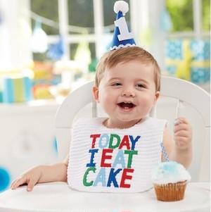 再入荷【Mud Pie】first birthday party set〜Blue〜