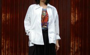 Unisex's / Zip up shirt jacket
