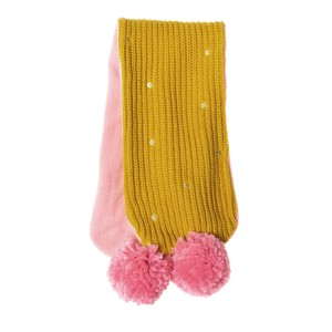 C1221Y GOLD SPOTTY SCARF