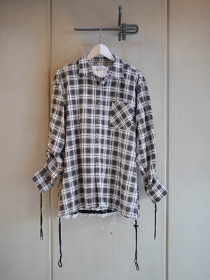 OLD PARK / SHIRRING SHIRT (NO.2)