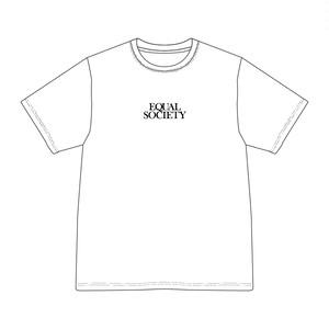 EQUAL SOCIETY T-Shirt Ver.2 WHITE [1911]