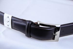 Giorgio Zoni Leather Belt -Dark Brown ジョルジオ・ゾーニ レザーベルト