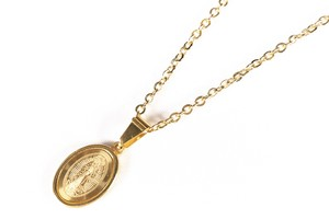 【316L coin necklace】 / GOLD
