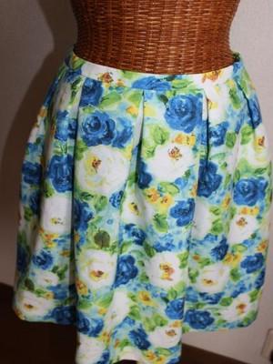 used    ROPEPICNIC、サイズ38、花柄スカート ★4 古着