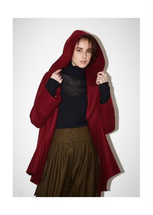 【予約】Melton mantle coat
