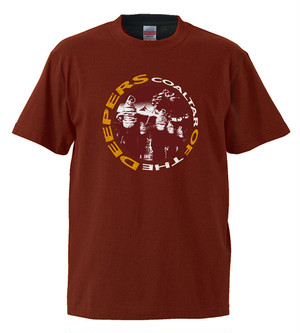 COALTAR OF THE DEEPERS  - TOUR FINAL TSHIRT (BURGUNDY)