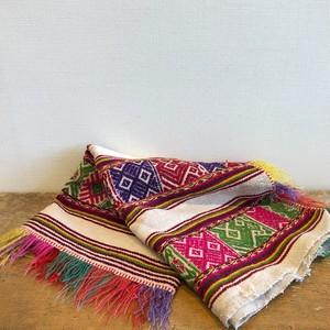 アンデスのヴィンテージ織物
