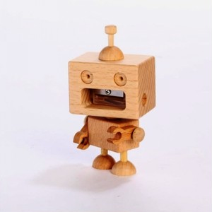 木製品 ROBOT PENCIL SHARPENER