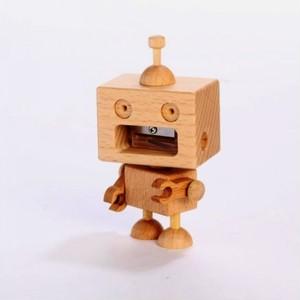 木製品 ROBOT PANCIL SHARPENER