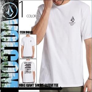 A3531904 ボルコム Tシャツ 半袖 メンズ 人気 ブランド おすすめ トップス 白 MIKE GIANT SHORT SLEEVE TEE VOLCOM
