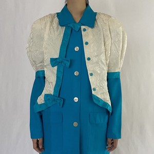 silk ribbon jacket