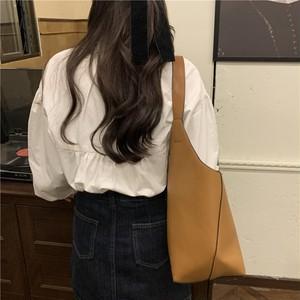 〈カフェシリーズ〉春のフロントリボンブラウス【spring front ribbon blouse】