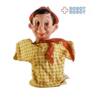 ピノキオ ハンドパペット 手踊り人形