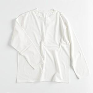 WORK-ER クルーネックロングTシャツ 白 Lサイズ