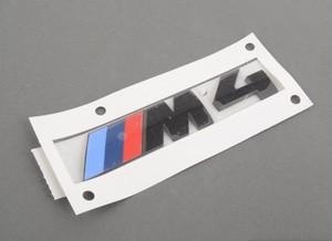 BMW純正部品 F82 F83 M4コンペティションパッケージモデル専用リアエンブレム