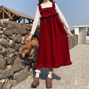 フリルジャンパースカート ・14441