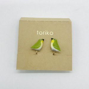 【toriko】 メジロ レジンイヤリング