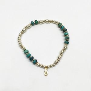 amp japan/Metal Beads & Turquoise -Short-