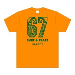 Surf & Peace Tシャツ (厚手)5.6oz