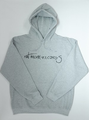 Nat Monk records パーカー (Grey)