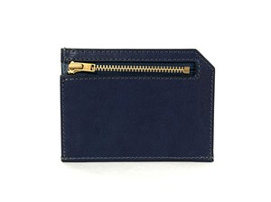 RE.ACT Solid Indigo Slim Wallet
