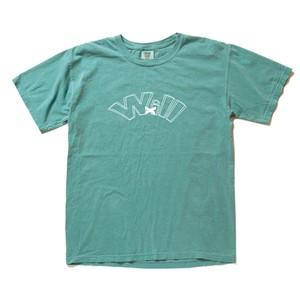 WillxWill double line T-shirts sea foam green