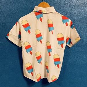 アイスポップのキッズアロハシャツ