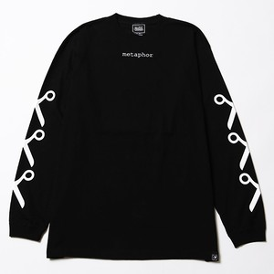 【SILLENT FROM ME】METAPHOR -Long Sleeve- BLACK