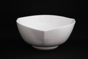 【井上康徳作】白磁三角鉢