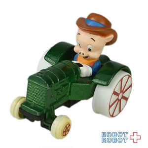 ERTL ワーナー ルーニーチューンズ ポーキーピッグ ダイキャストカー