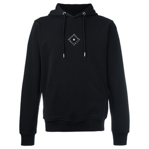 "Alphoenix ""MDM II.I"" BLACK Embroidered Hoodie"
