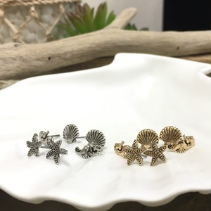 Metal SEA LIFE pierce SET (EE0087)
