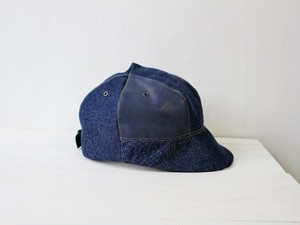 LOKACAP|製品洗い KOJIMADENIM×LEATHER【M:56~59cm】