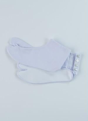 福助 白足袋 のびる足袋 4枚こはぜ 綿キャラコ さらし裏 男女兼用 日本製 着物 振袖