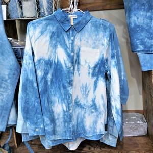 藍染こば屋 / 藍染のYシャツ
