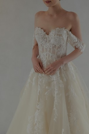 Wedding Dress/rental/Princess Line  /DR2008