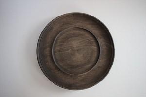 北山栄太|リムプレート7寸(ザクロ) 茶