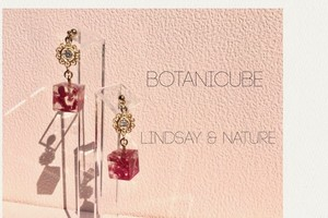 【accessories】BOTANICUBE / metal lace