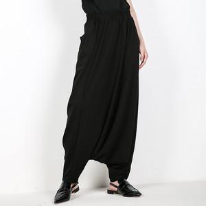 2739サルエルパンツ 袴パンツ ストリート系 レディース メンズ ロングパンツ カジュアルパンツ 個性 ヒップホップダンス衣装 ダンスパンツ 舞台衣装