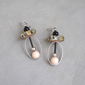 pierced earrings C-P02/earrings C-E02<silver>