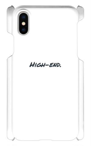 High-end.公式スマホケース(iPhoneX)