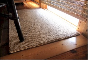 size:70×120cm 麻緞通(あさだんつう) Wool blend/ウールブレンド
