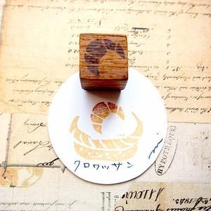ツメサキの世界 手彫りはんこ「パンのなまえ」⑤